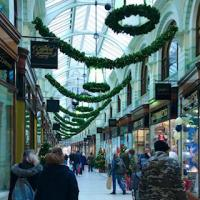 Royal Arcade, Norwich - we went for our holidays there